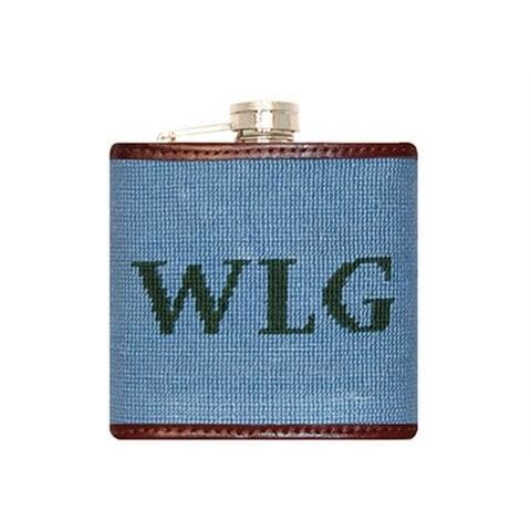 Custom Needlepoint Flask - OnwardReserve