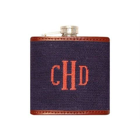 Custom Needlepoint Flask - Onward Reserve
