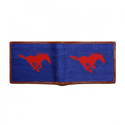 SMU Needlepoint Bi-Fold Wallet - OnwardReserve