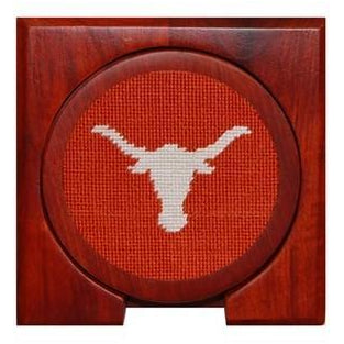 Texas Needlepoint Coasters - Onward Reserve