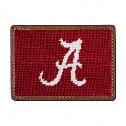 Alabama Needlepoint Credit Card Wallet - OnwardReserve