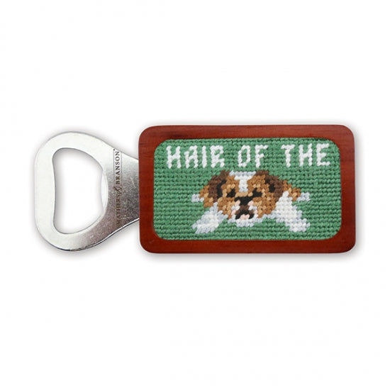 Hair of the Dog Needlepoint Bottle Opener
