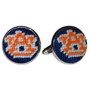 Auburn Needlepoint Cufflinks - OnwardReserve