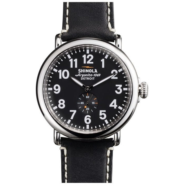 The Runwell Black 47mm - Onward Reserve