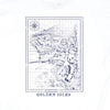 Golden Isles Map Short Sleeve Tee