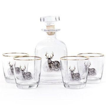 Deer Decanter Set - OnwardReserve