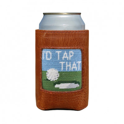 I'd Tap That Needlepoint Can Cooler