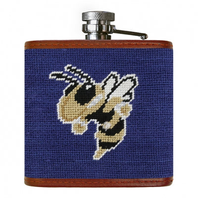 Georgia Tech Needlepoint Flask - Onward Reserve