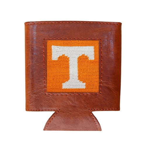 Tennessee Power T Needlepoint Can Cooler