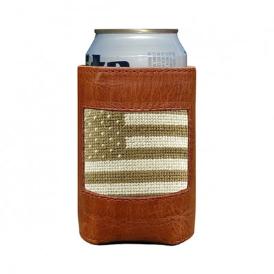 Armed Forces Flag Needlepoint Can Cooler