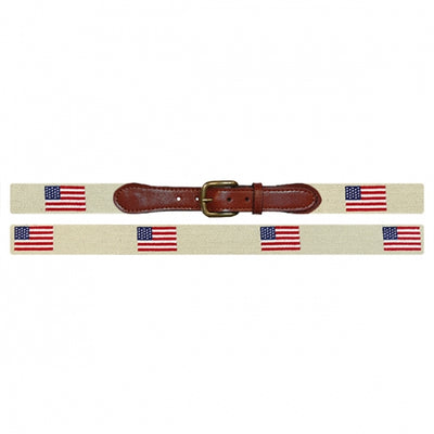 American Flag Belt - Khaki