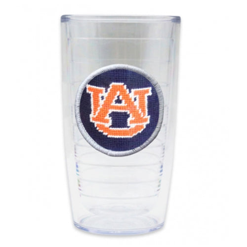 Auburn College Town Etched Map Cocktail Glasses - OnwardReserve