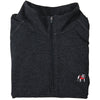 Standing Bulldog Bamboo Pullover - Black Heather