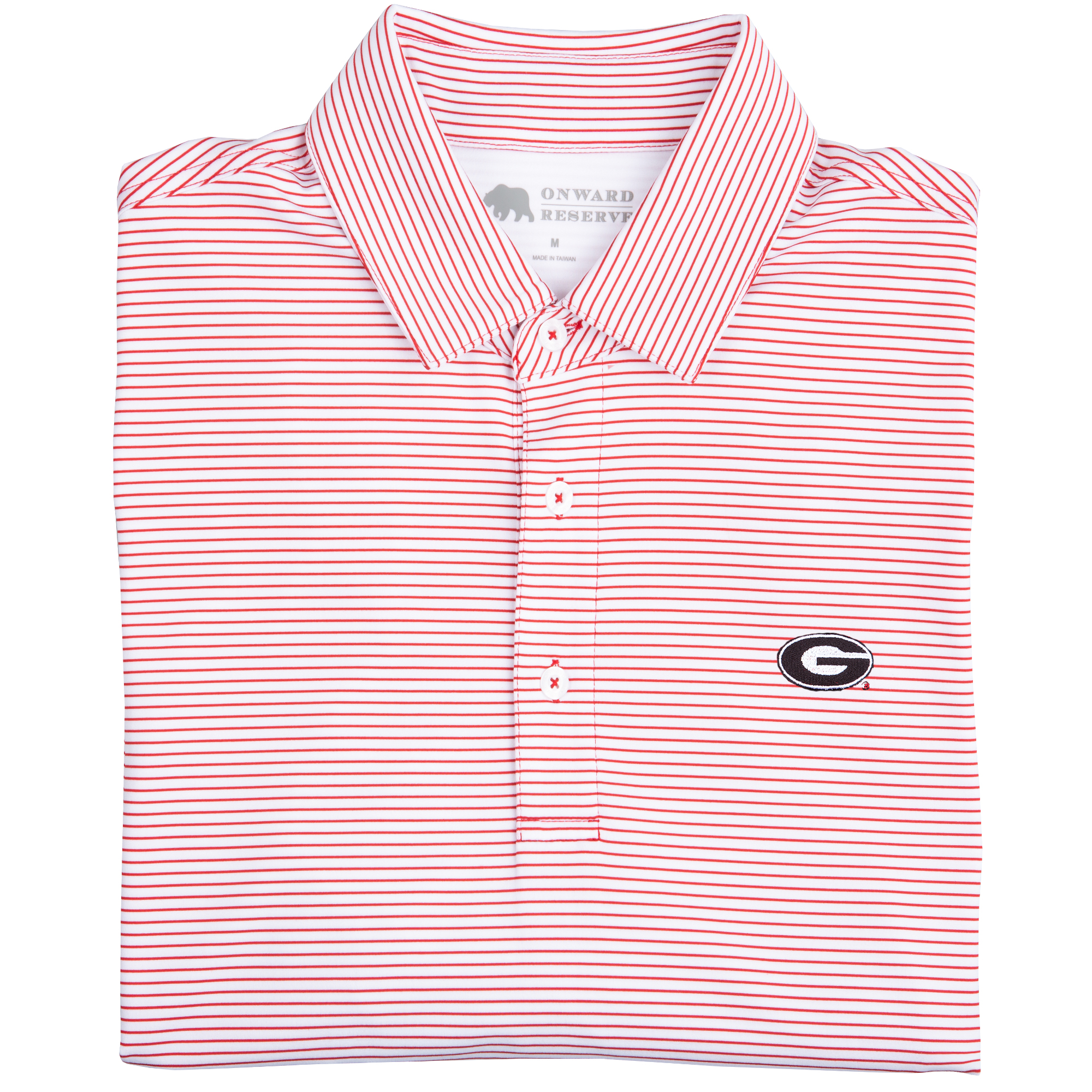 Birdie Stripe Super G Polo - OnwardReserve