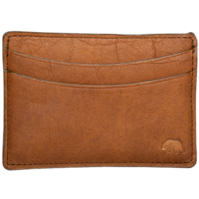 Smooth Bison Card Wallet - OnwardReserve
