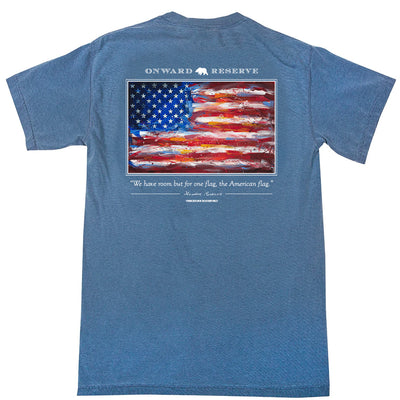 American Flag Short Sleeve Tee