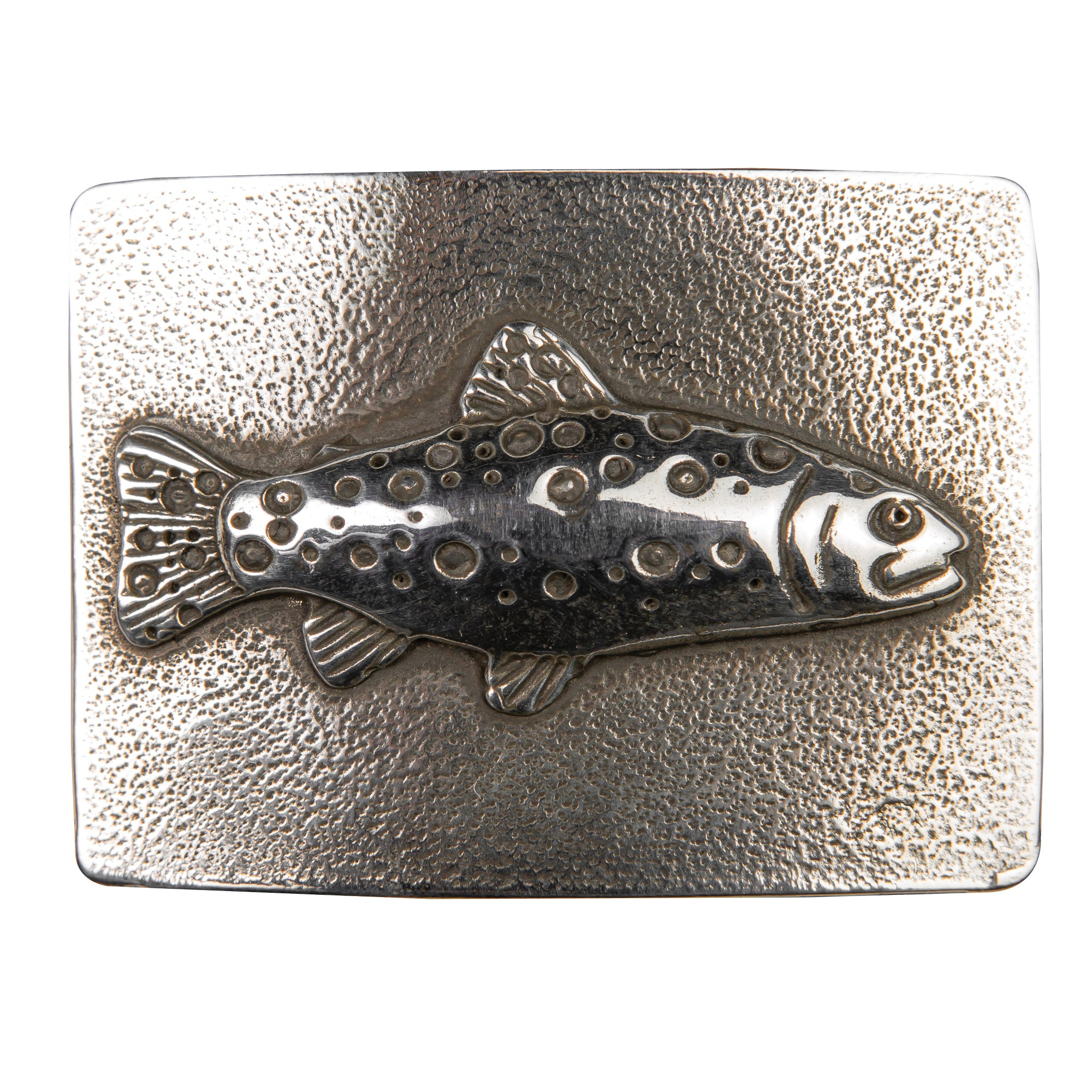 Rectangular Trout Belt Buckle - OnwardReserve