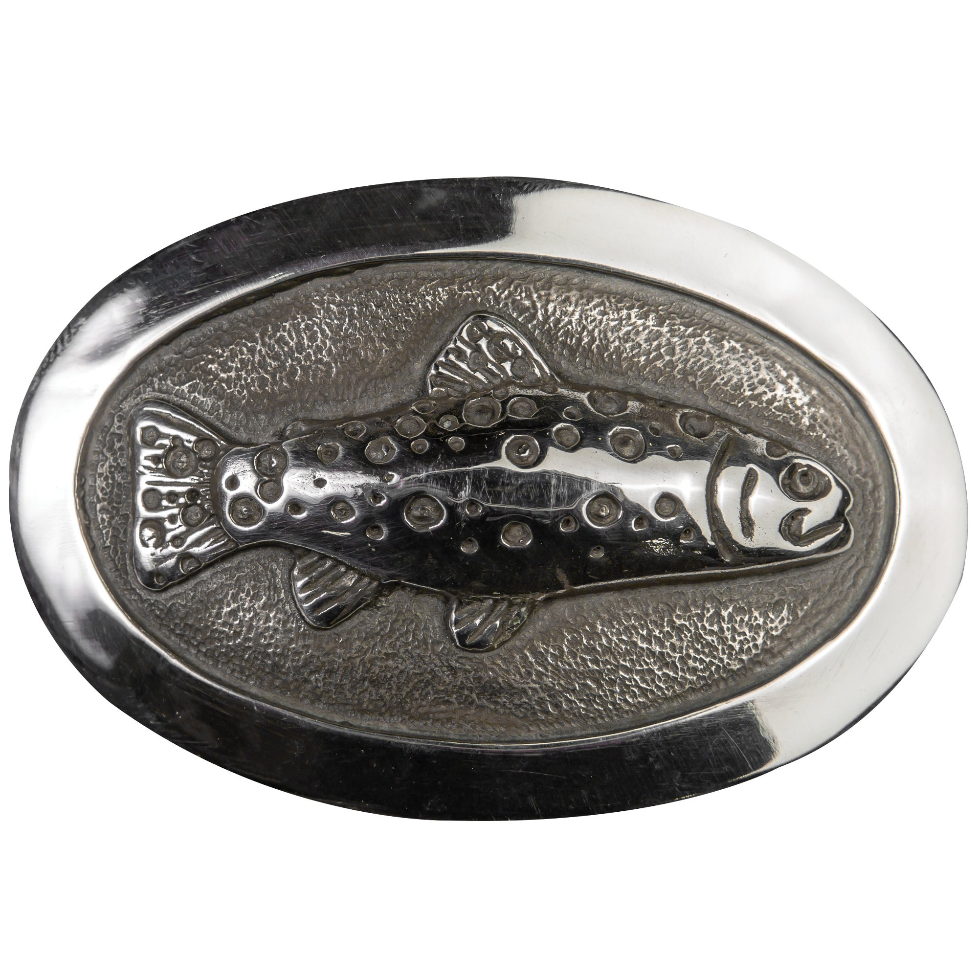 Oval Trout Belt Buckle - OnwardReserve