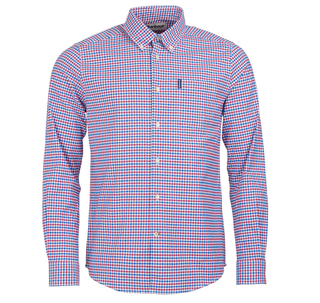 Red/Blue Gingham Button Down
