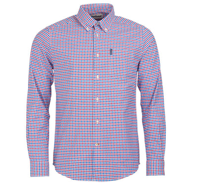 Red/Blue Gingham Button Down - OnwardReserve