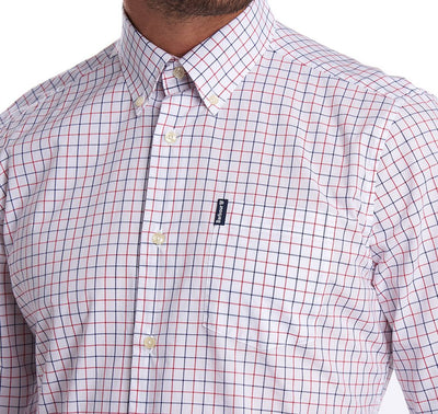 Red Tattersall Button Down - OnwardReserve
