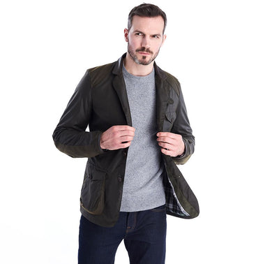 Barbour Icons Beacon Sports Waxed Cotton Jacket - OnwardReserve