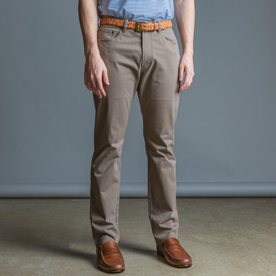 Five Pocket Stretch Pant Walnut