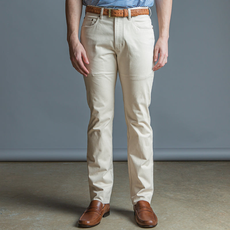 Five Pocket Stretch Pant Stone - OnwardReserve