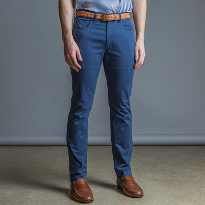 Five Pocket Stretch Pant Dark Denim