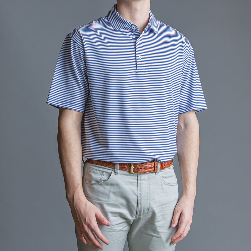 Pro Stripe Performance Polo - OnwardReserve