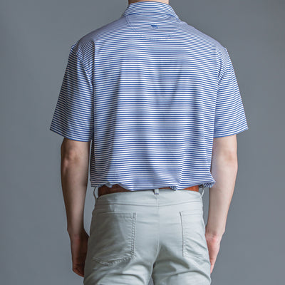 Pro Stripe Performance Polo