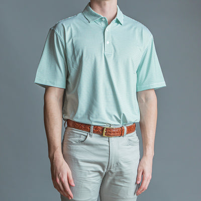Birdie Stripe Performance Polo - OnwardReserve