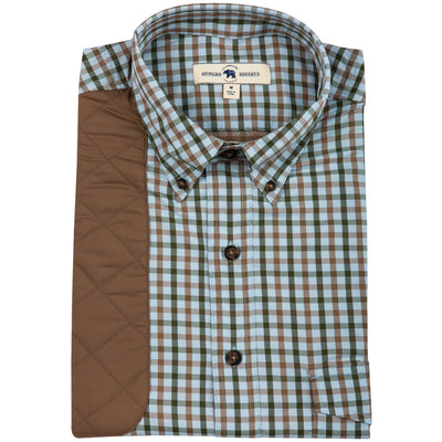 Forest Plaid Performance Shooting Shirt - OnwardReserve