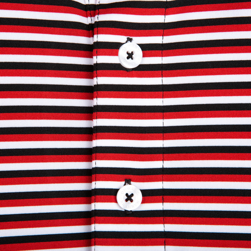 Triple Stripe Super G Polo - OnwardReserve