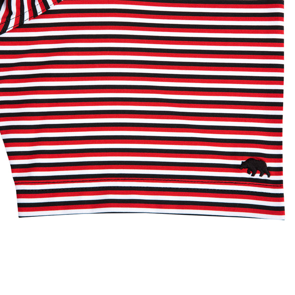 Triple Stripe Standing Bulldog Polo - Onward Reserve