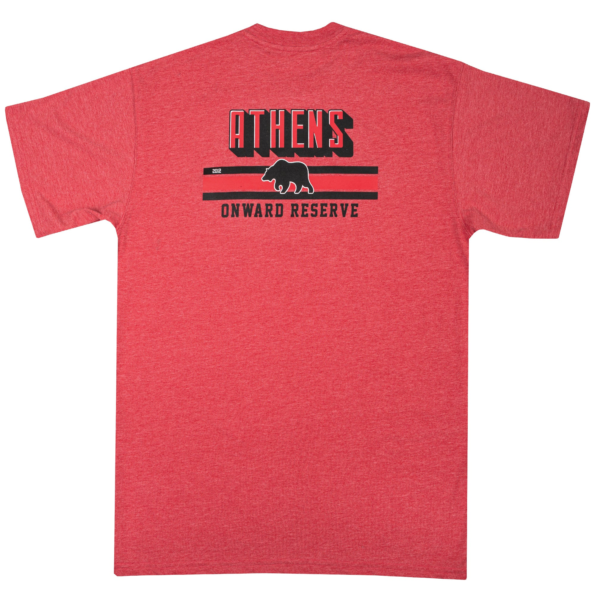 Athens Stripes Short Sleeve Tee