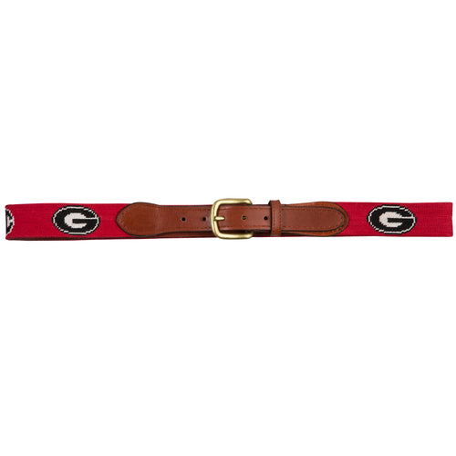 UGA SEC Needlepoint Belt - Onward Reserve