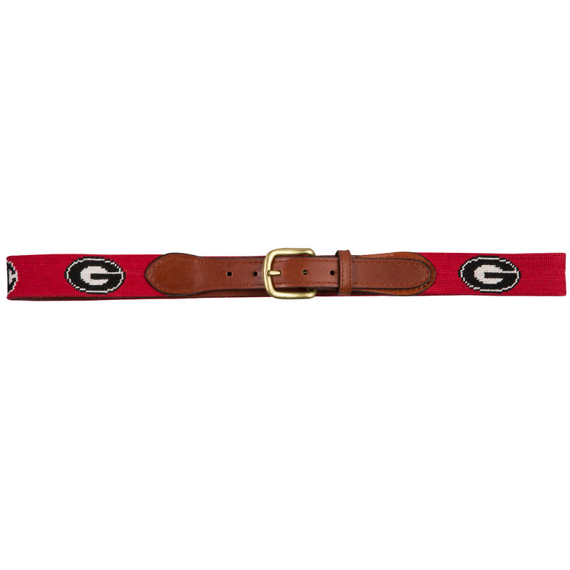 UGA SEC Needlepoint Belt - OnwardReserve