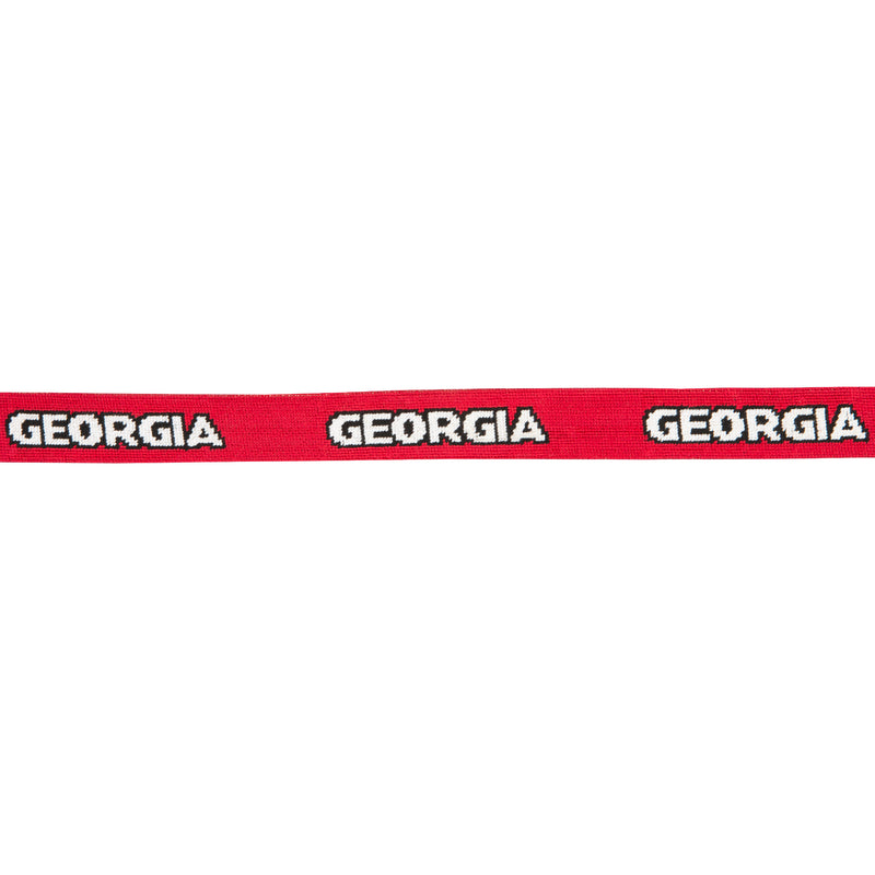 "UGA ""Georgia"" Needlepoint Belt - OnwardReserve"