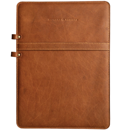 Bison Leather Pad-Backer - OnwardReserve