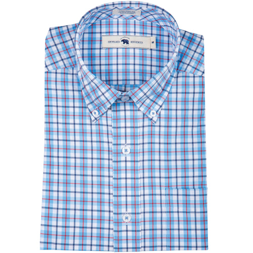 Dune Tailored Fit Performance Button Down - OnwardReserve