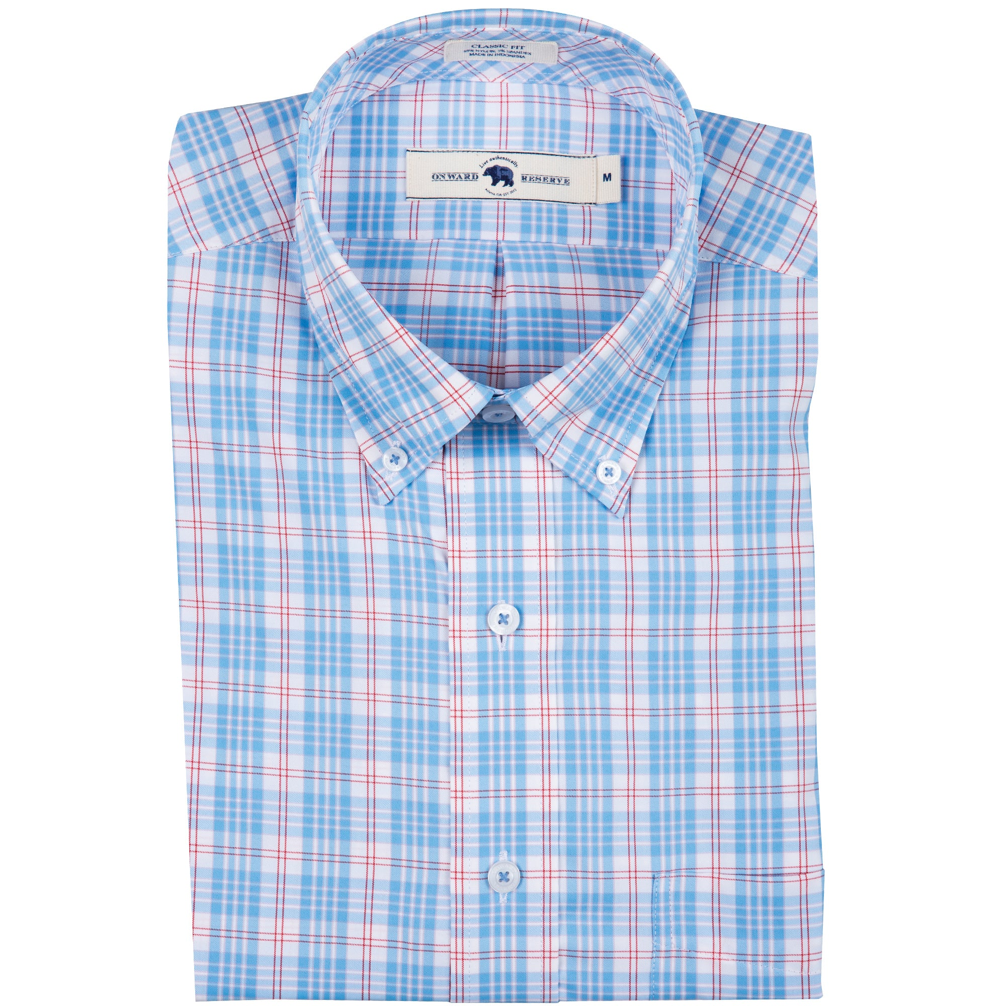 Retreat Classic Fit Performance Button Down