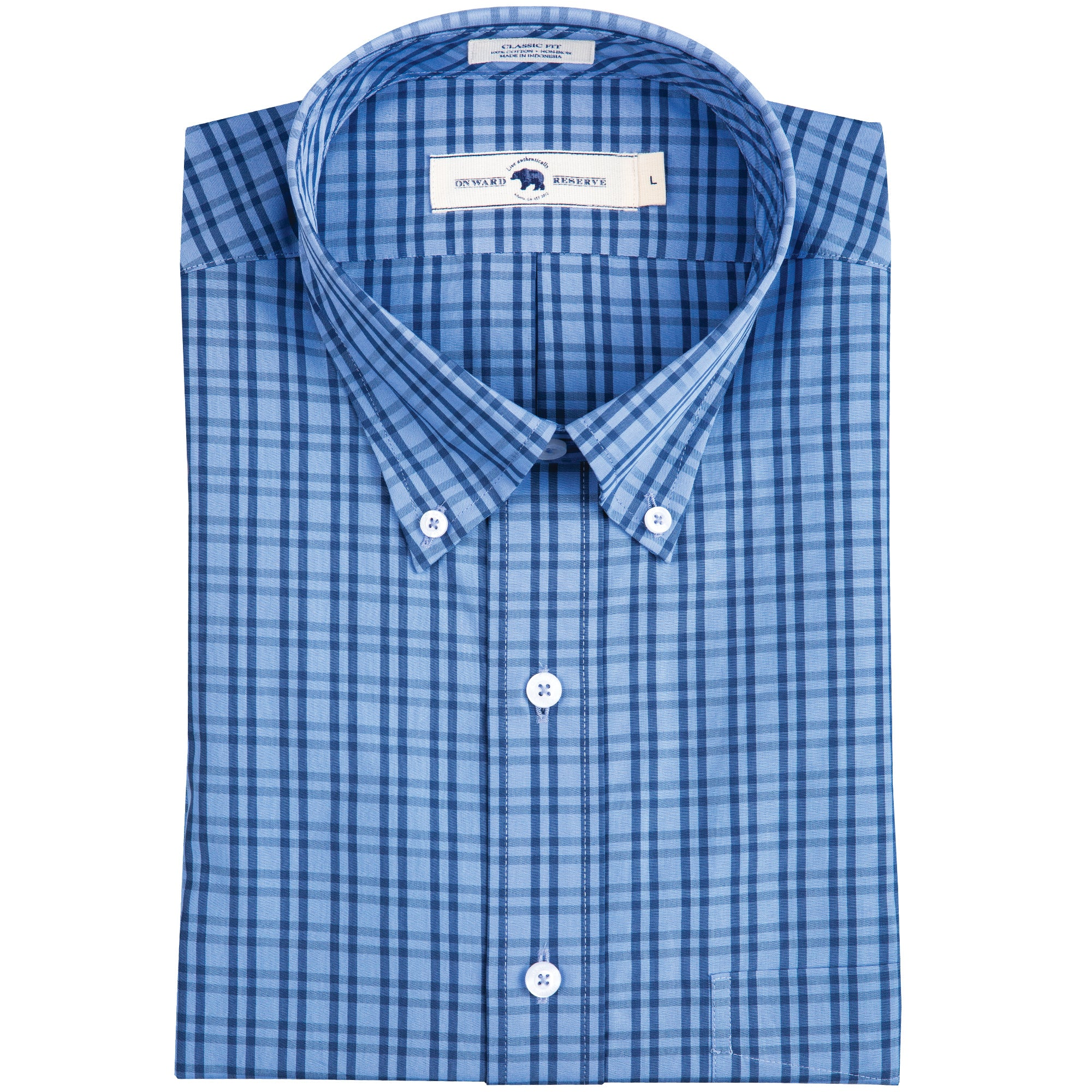 Sapelo Classic Fit Button Down