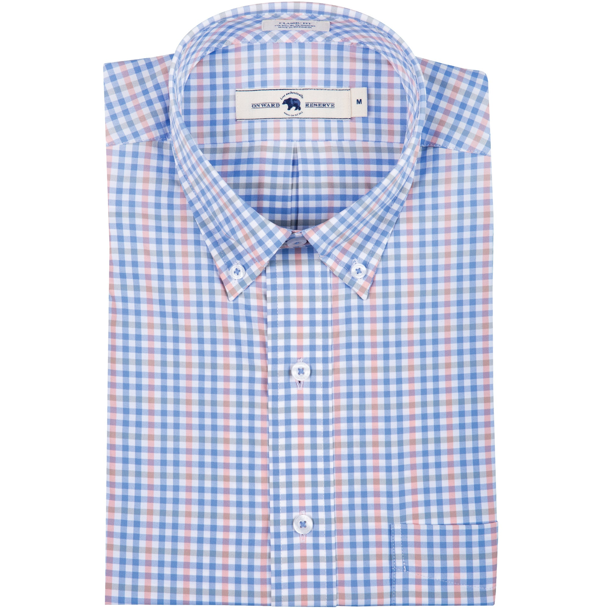 Redfern Classic Fit Performance Button Down