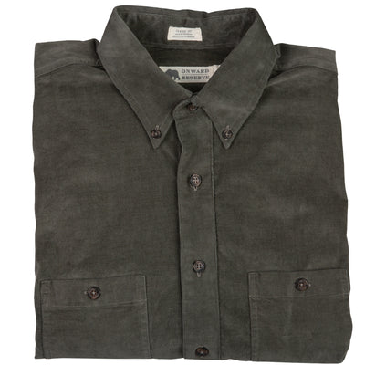 Washed Corduroy Comfort Shirt - OnwardReserve