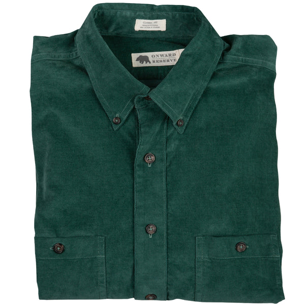 Washed Corduroy Comfort Shirt - Onward Reserve
