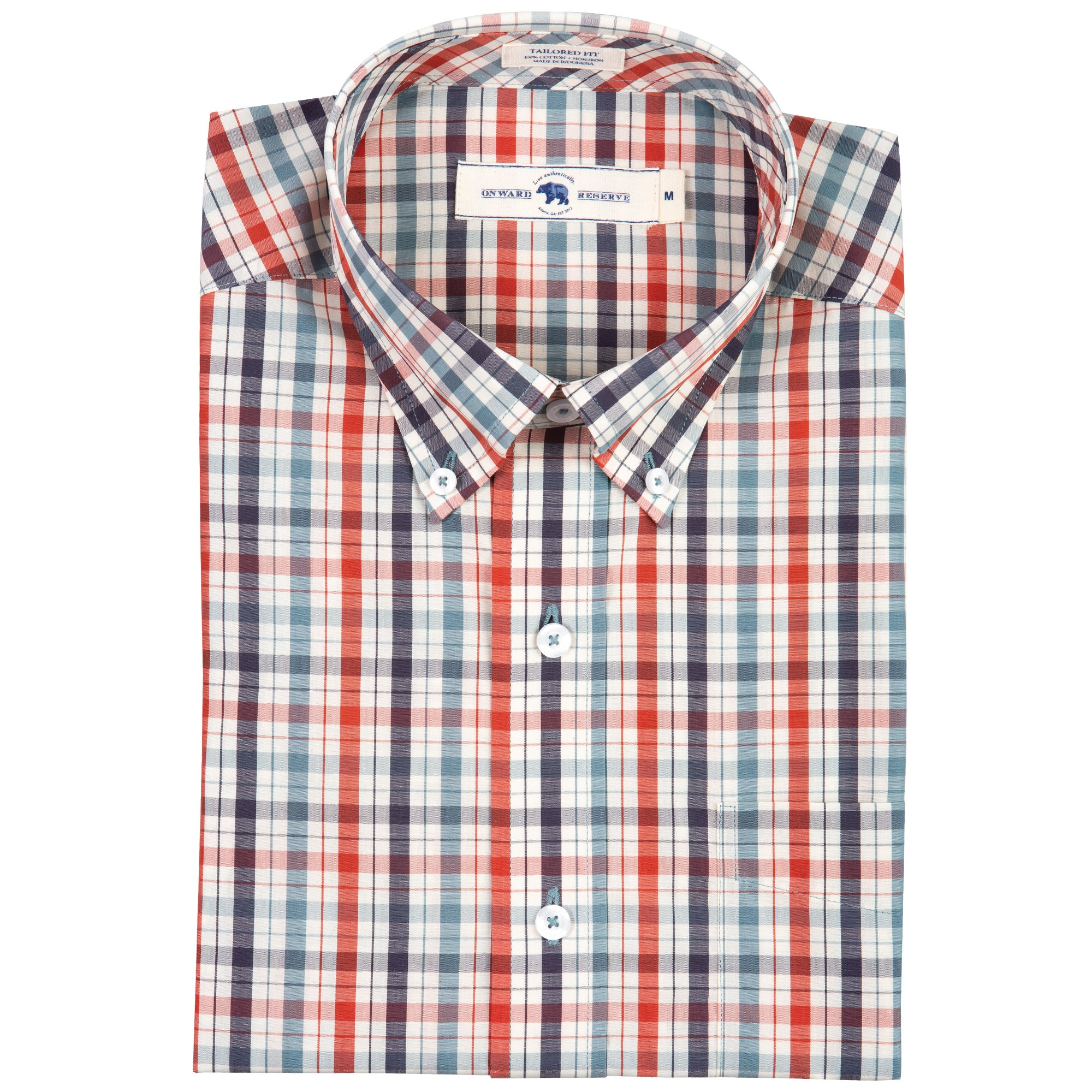 Hunt Tailored Fit Button Down - OnwardReserve