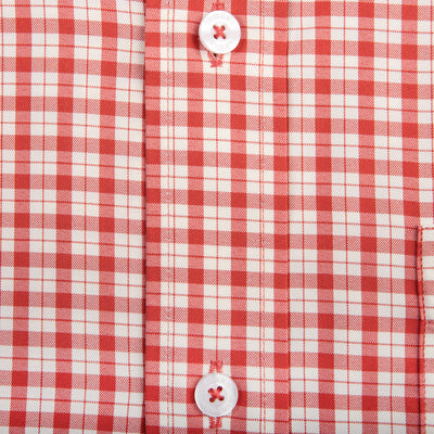 Satilla Tailored Fit Performance Button Down