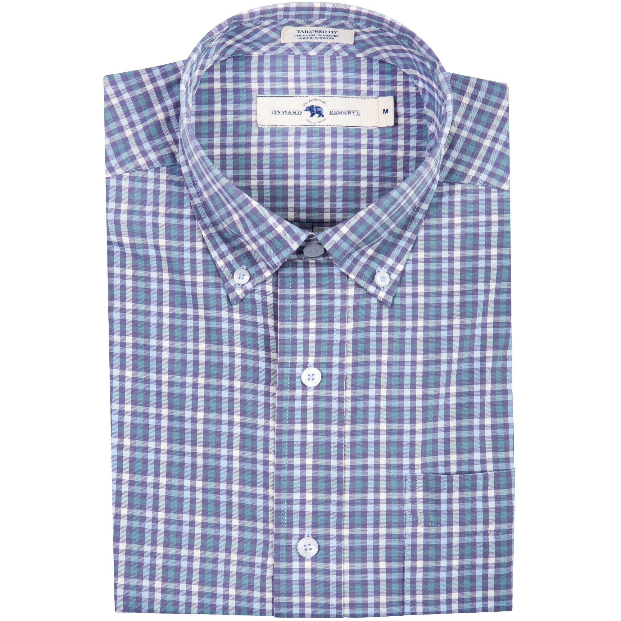Riverside Tailored Fit Performance Button Down