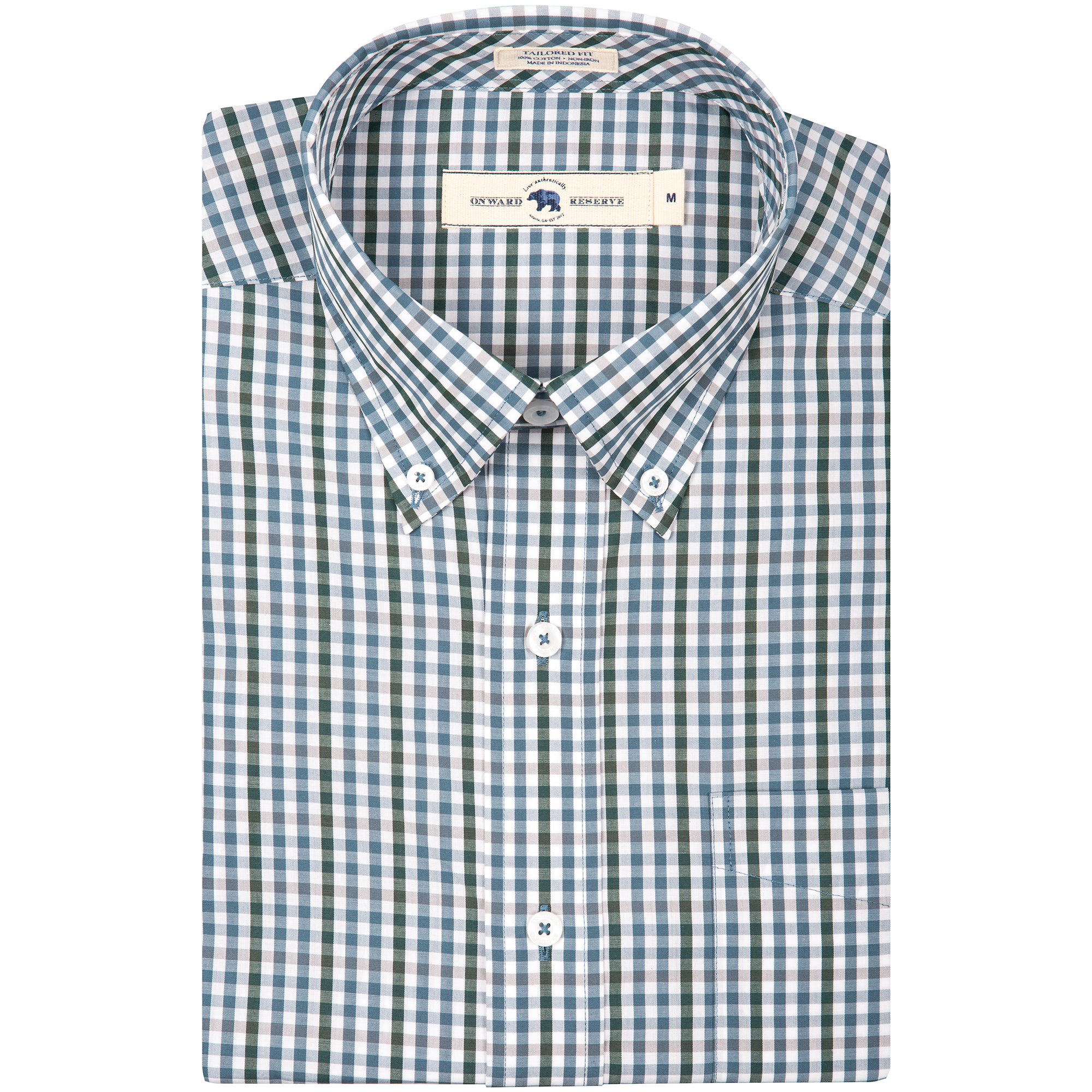 Smith Tailored Fit Button Down